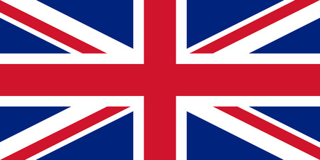 Flag of the Great Britain. Vector illustration EPS10 Ilustrace