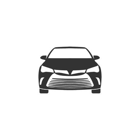 Car icon in simple design. Vector illustration