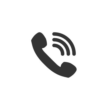 Call icon in simple design. Vector illustration Illustration
