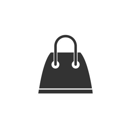 Shopping bag icon in simple design. Vector illustration Ilustrace