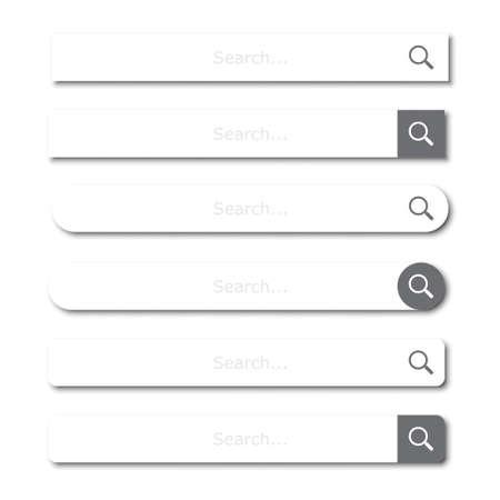 Smartphones with mockup social media frame. Vector illustration 일러스트