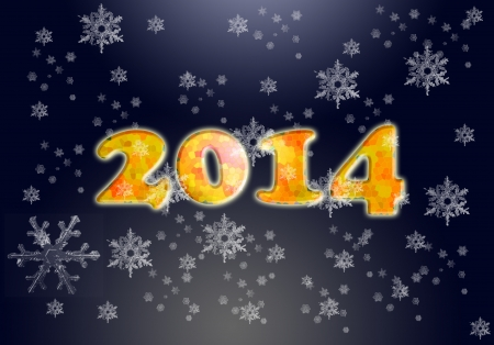 two thousand and fourteen: 2014 Happy new year