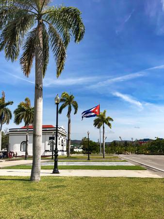 Tourism in Cuba. City of Santiago de Cuba, Cementerio Sta. Ifigenia.