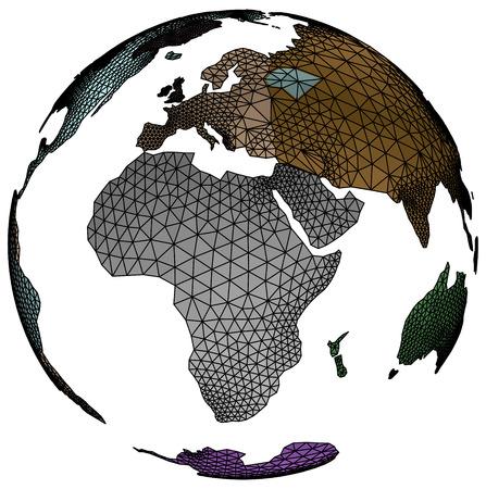 Earth Ilustração Vetorial