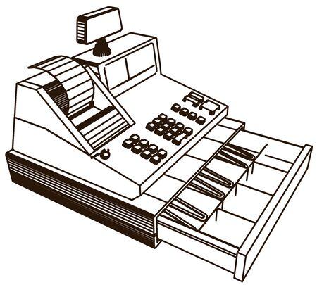 caisse enregistreuse