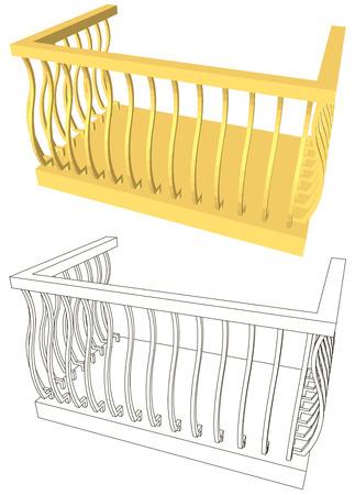 doric: balcony