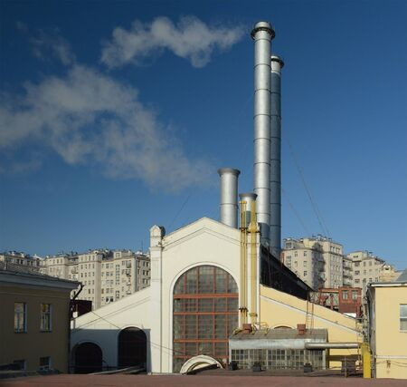 thermal: thermal power station