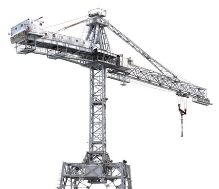 crane tower: crane Stock Photo