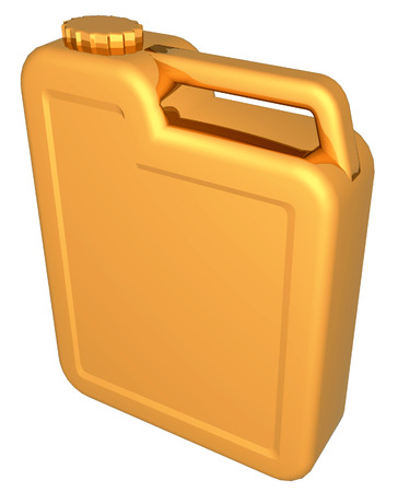 and gold: gold canister Stock Photo