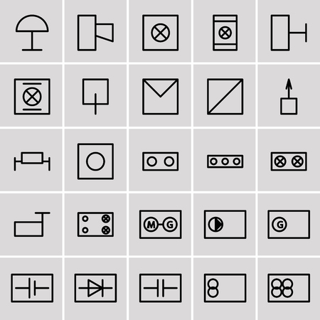 91 Basic Commercial Electrical Symbols Residential Electrical