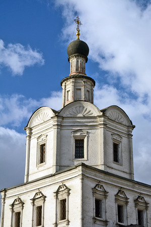 spassky: Moscow, Russia - March 11, 2014: Andronikov Monastery, Archangel Church