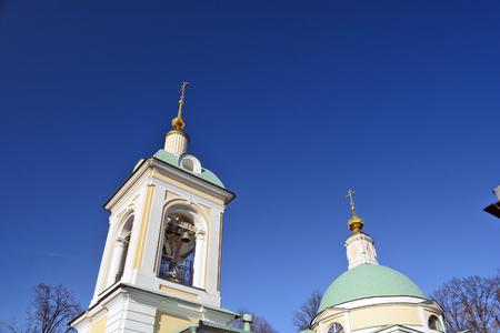 orthodox: Orthodox bell tower Stock Photo