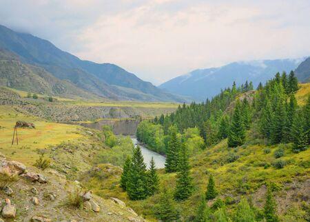 siberia: River Chuya, Altai, Siberia, Russia
