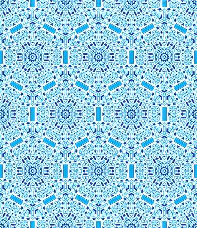 wizardry: seamless pattern on the theme of space exploration