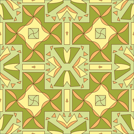 ceramics: seamless pattern for ceramics Illustration