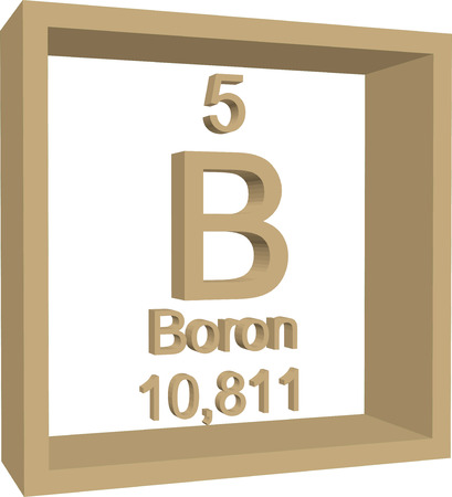 periodic table of the elements: Periodic Table of Elements - Boron