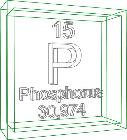 Tableau périodique des éléments - Phosphore
