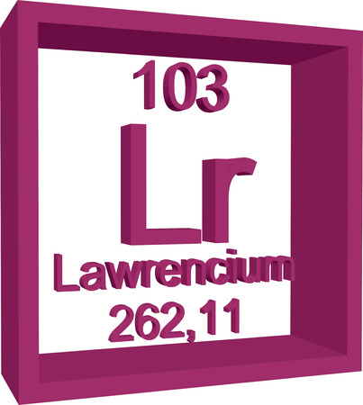 periodic: Periodic Table of Elements - Lawrencium