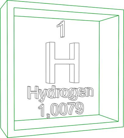 hidrogeno: Tabla Peri�dica de los Elementos - El hidr�geno