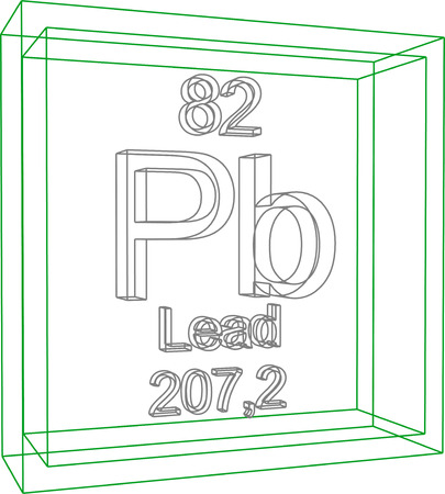 periodic table of the elements: Periodic Table of Elements - Lead