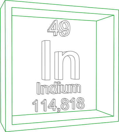 indium: Periodic Table of Elements - Indium