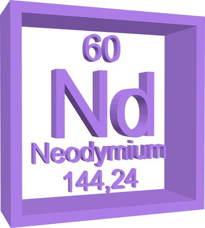 periodic table: Periodic Table of Elements - Neodymium