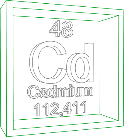 cadmium: Periodic Table of Elements - Cadmium