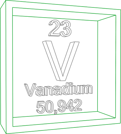 periodic table: Periodic Table of Elements - Vanadium