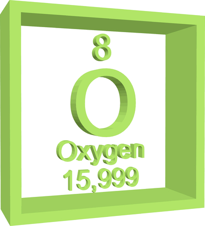Periodic table of elements oxygen royalty free cliparts vectors periodic table of elements oxygen vector urtaz Images