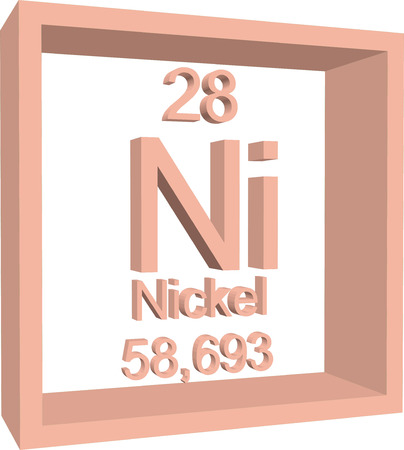 nickel: Periodic Table of Elements - Nickel