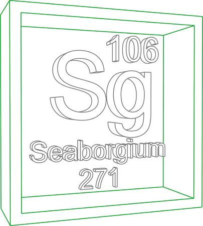 sg: Periodic Table of Elements - Seaborgium