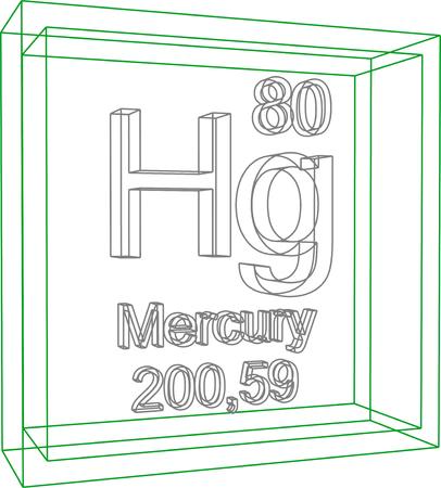 mercury: Periodic Table of Elements - Mercury