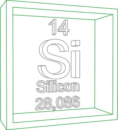 silicon: Tabla Periódica de los Elementos - Silicon