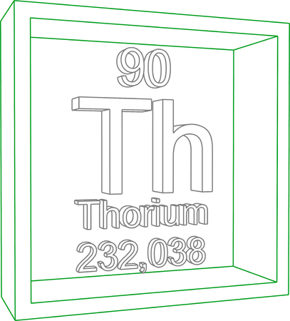 thorium: Periodic Table of Elements - Thorium