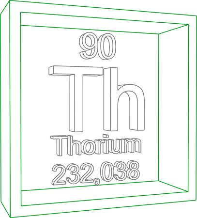 thorium: Periodic Table of Elements - Thorium