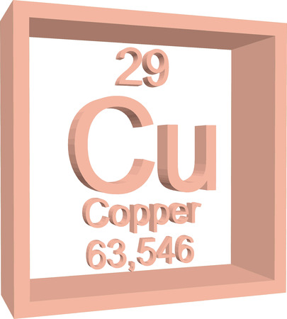 Copper nitrate cun2o6 molecule royalty free cliparts vectors and periodic table of elements copper vector urtaz Image collections