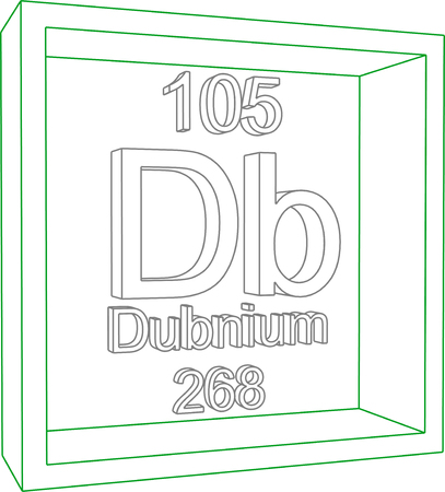 periodic table: Periodic Table of Elements - Dubnium