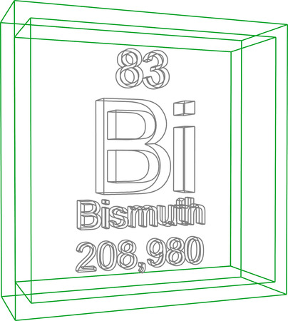 bismuth: Periodic Table of Elements - Bismuth