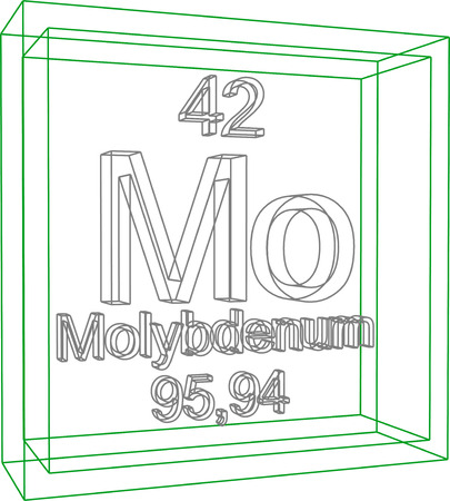 periodic: Periodic Table of Elements - Molybdenum