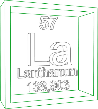 57: Periodic Table of Elements - Lanthanum
