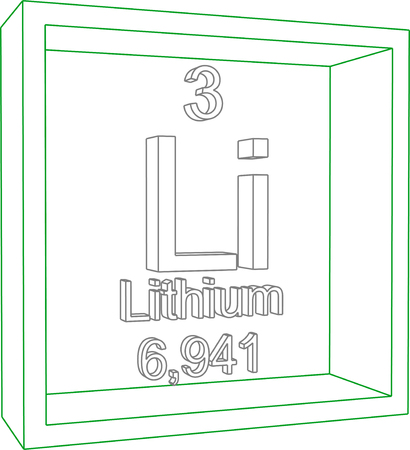 li: Periodic Table of Elements - Lithium