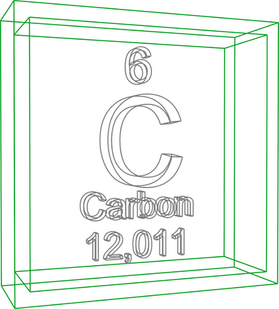 Periodic Table Of Elements Carbon Royalty Free Cliparts Vectors