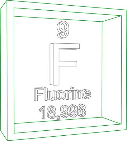 Tabla peridica de los elementos flor ilustraciones vectoriales tabla peridica de los elementos flor urtaz Gallery