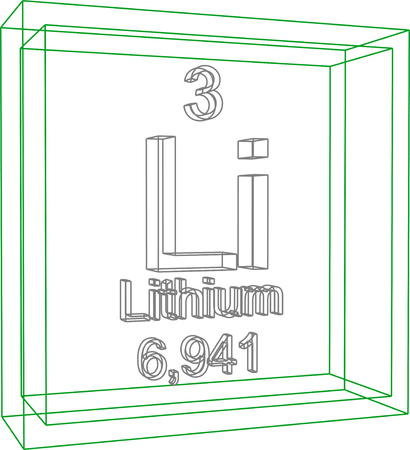 li: Periodic Table of Elements - Lithium