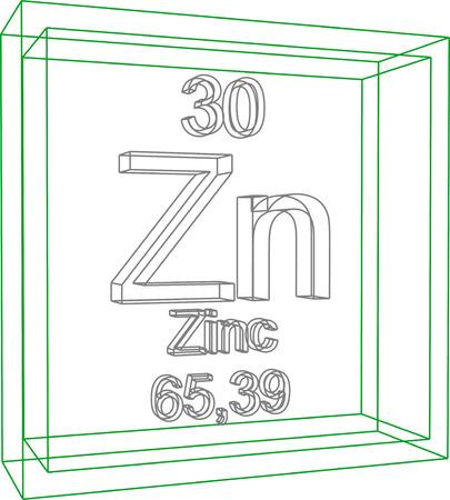 Tabla peridica de los elementos zinc ilustraciones vectoriales 57971808 tabla peridica de los elementos zinc urtaz Images