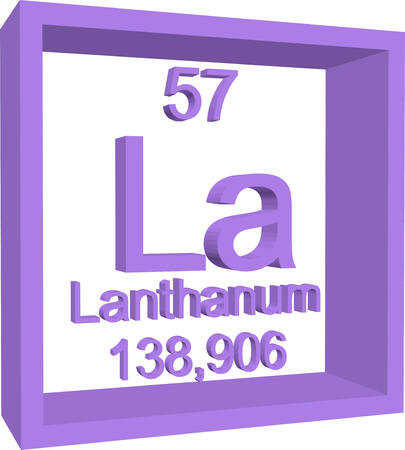 57: Periodic Table of Elements - Lanthanum