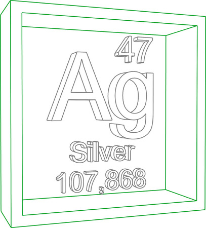 periodic: Periodic Table of Elements - Silver
