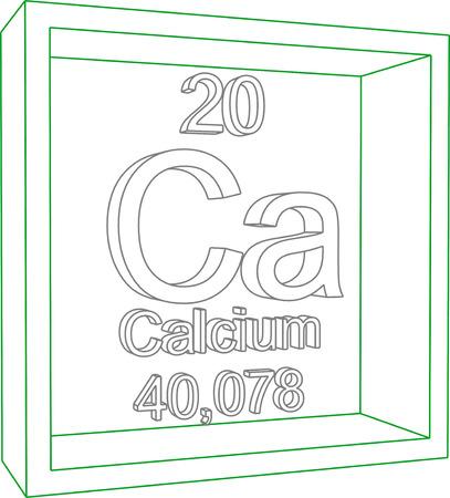 calcium: Periodic Table of Elements - Calcium