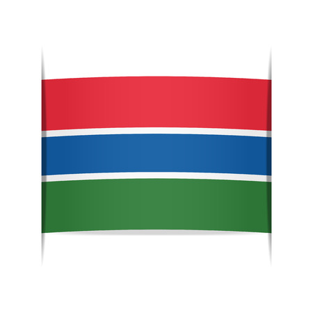 gambia: Flag of the Gambia