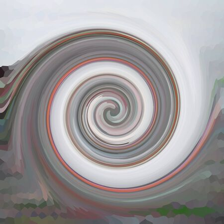 Swirls of digital paint suitable as background for projects on art, creativity and education. Big size. High resolution. Stock Photo